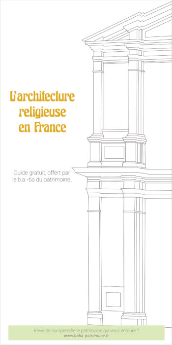 "Couverture du guide ""L'architecture religieuse en France"""